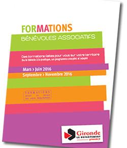 Formations des bénévoles associatifs en Gironde !