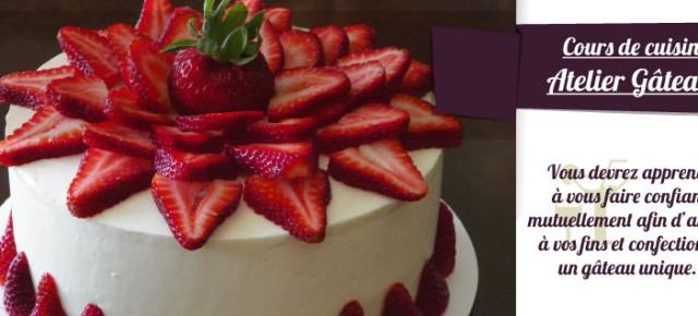 Atelier Gourmand du lundi 09 mai !