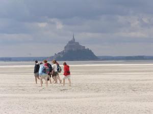 Sortie au Mont Saint Michel