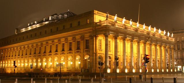 Visite Sensorielle à l'Opéra National de Bordeaux le mardi 08 novembre