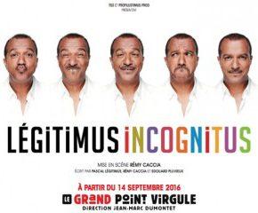 Accompagnement au spectacle de Pascal LEGITIMUS mardi 28 février Boulogne Billancourt