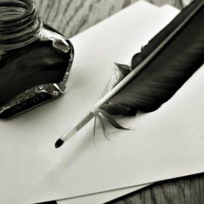 Recherche d'un porte plume pour aider à l'écriture d'un livre